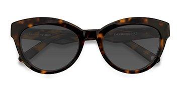 Tortoise Velour -  Sunglasses
