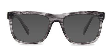 Gray Strip Virtual -  Sunglasses