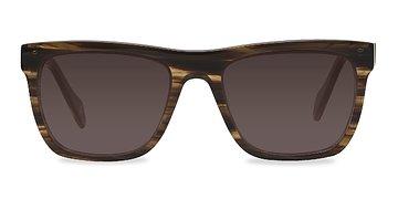 Brown Strip Virtual -  Sunglasses