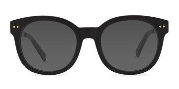 Matte Black Till Sunset -  Sunglasses