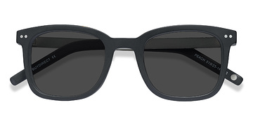 Matte Black Peach -  Sunglasses