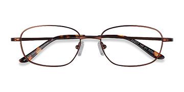 Coffee  Setup -  Titanium Eyeglasses