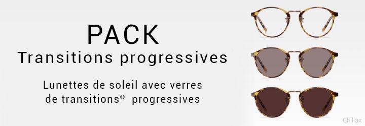 Progressive Lens Package - Frames with progressive lenses included. Starting at $99