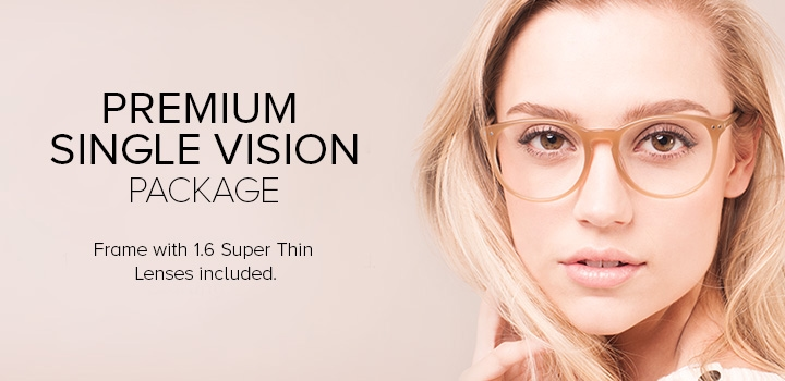 Premium Single Vision Package