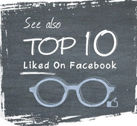 Top 10 liked glasses on facebook