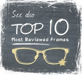 Top 10 most reviewed frames