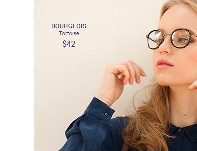 Bourgeois tortoise frame
