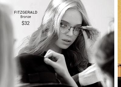 Fitzgerald bronze frame
