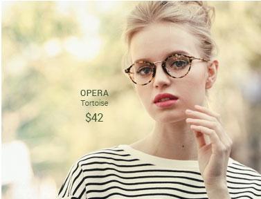 Opera tortoise frame