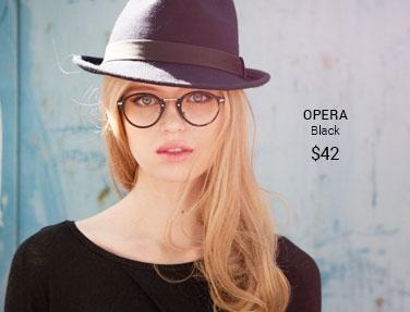 Opera black frame