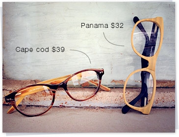 Wooden frame panama
