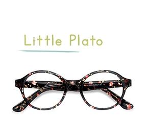 Floral Little Plato -  Coloré Plastique Lunettes de Vue