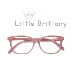 Pink Little Brittany -  Colorful Plastic Eyeglasses