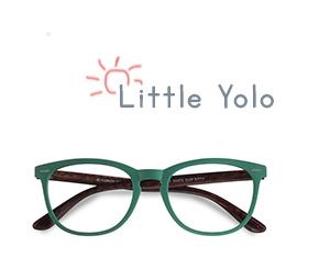 Vert Little Yolo -  Geek Plastique Lunettes de Vue
