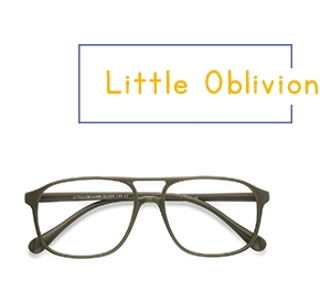 Green Little Oblivion -  Plastic Eyeglasses