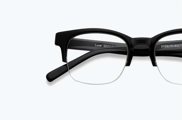 Semi-Rimless Frames