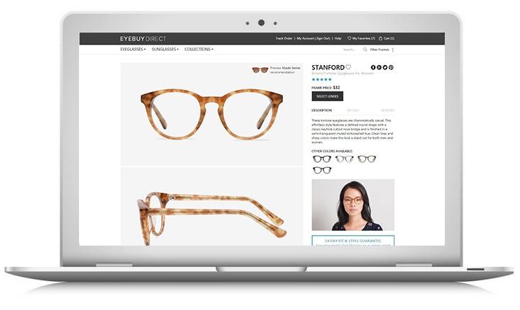 How to buy prescription eyeglasses online – step 1 – pick your frames