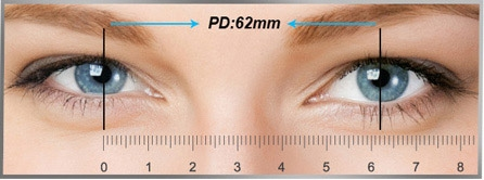 Measure your pupillary distance