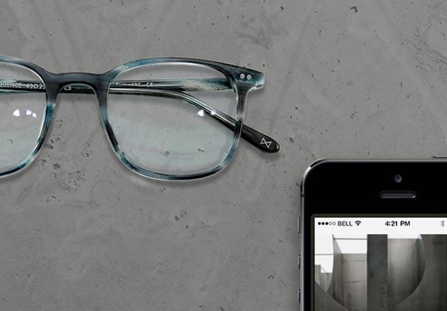 Sequence eyeglasses with Digital Screen Protection lenses