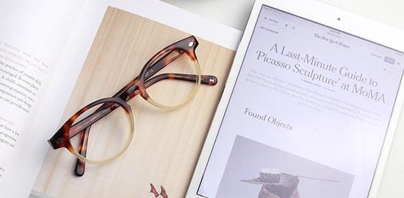 Digital screen protection lenses at EyeBuyDirect
