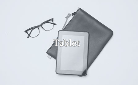 Eyeglasses and kindle