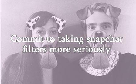 Man and woman dog filter