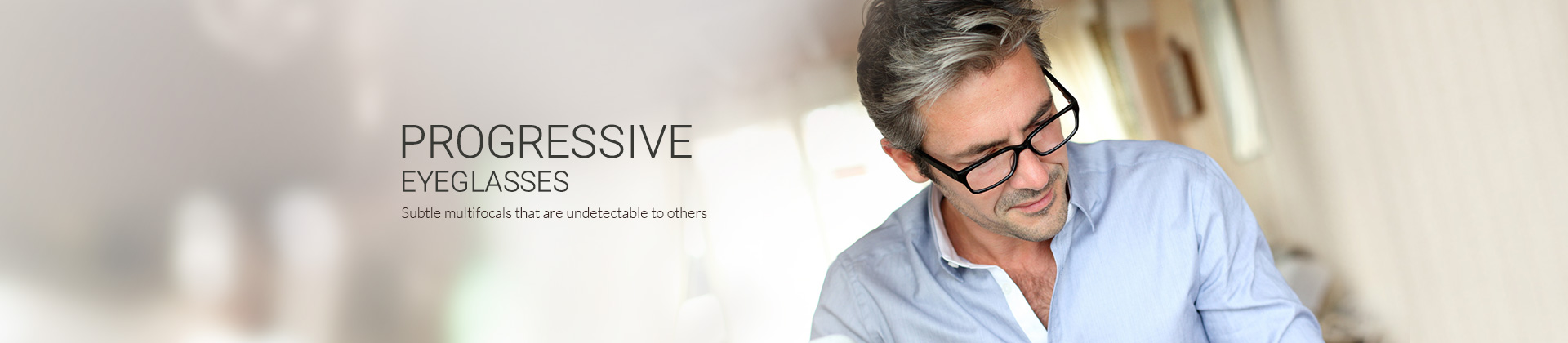 Subtle multifocals that are undetectable to others