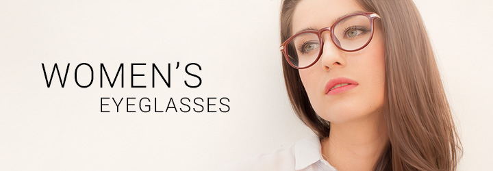 Choose from hundreds of women's eyeglasses that leave an impression, but not on your bank account