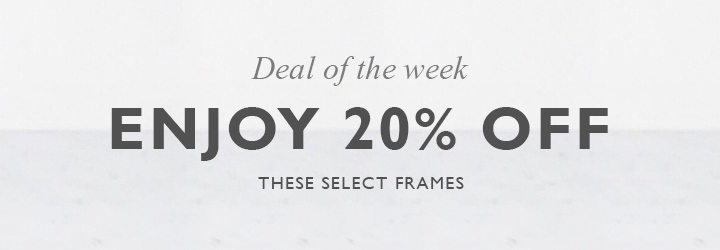 Deal of the week 20% Off