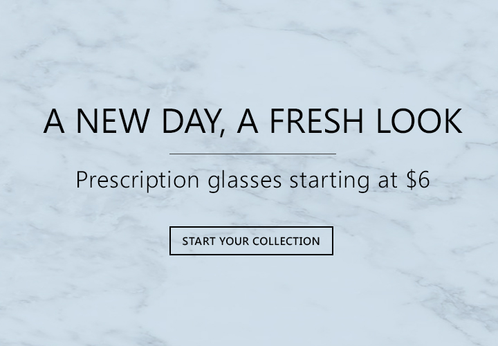 glasses starting at $6