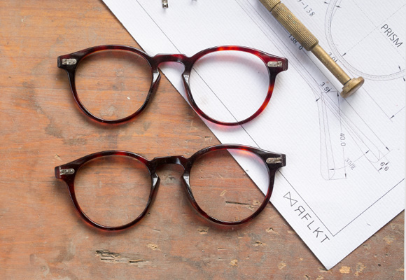 Acetate Eyeglasses and Acetate Eyeglass Frames Principal