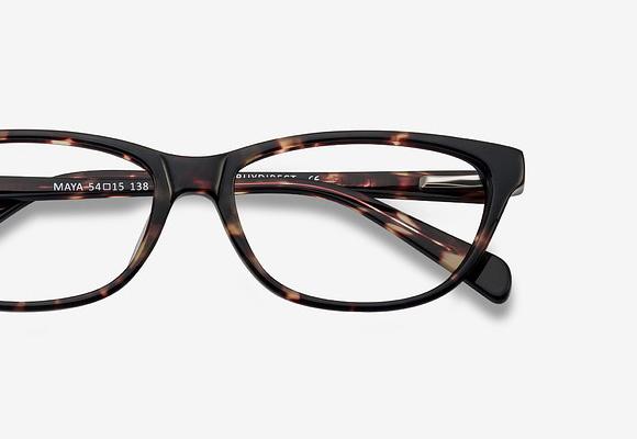 Horn-Rimmed & Cat-Eye Eyeglass Frames Principal