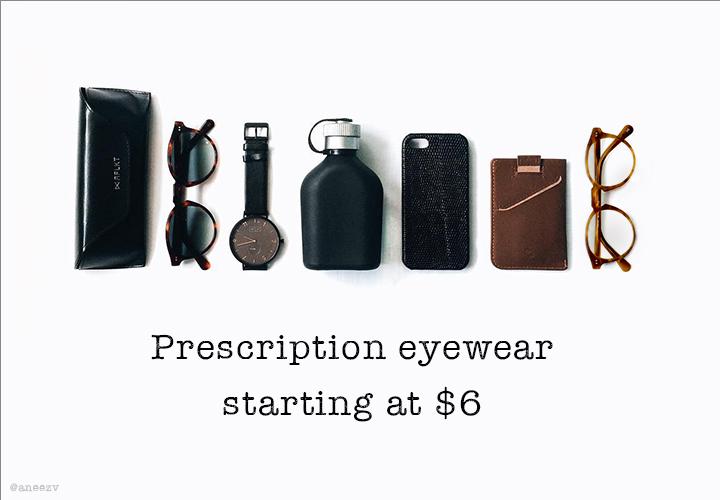 Your essentials - Prescription eyewear starting at $6