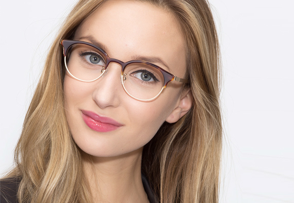 Oval Eyeglasses and Eyeglass Frames Secondary