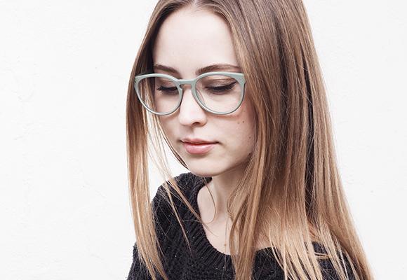 Prescription Eyewear with Plastic Eyeglass Frames Secondary