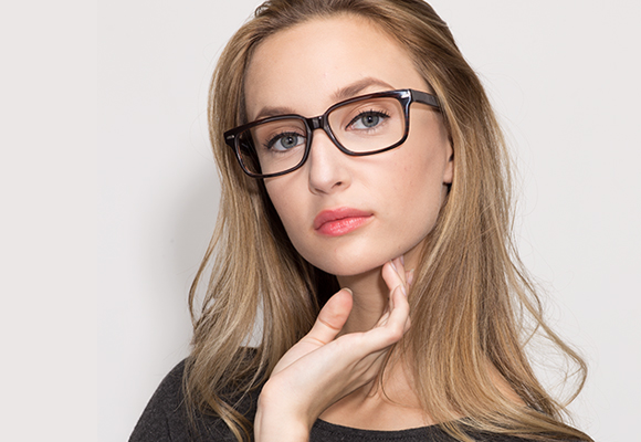 Rectangle Eyeglasses and Rectangular Frames Secondary