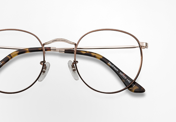 Round Eyeglasses and Eyeglass Frames Principal