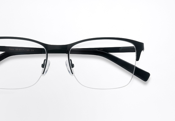 Semi Rimless Eyeglasses and Half Frames Principal