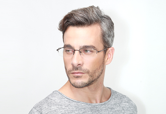 Semi Rimless Eyeglasses and Half Frames Secondary