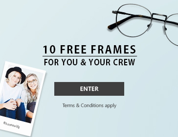 10 Free frames for you & your crew enter