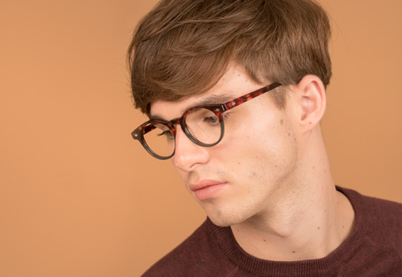 Man Tortoise Eyeglasses