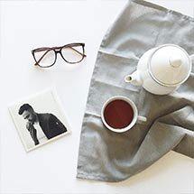 """Days"" eyeglasses in red from EyeBuyDirect"