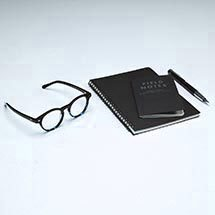 """Concept"" eyeglasses in jet from EyeBuyDirect"