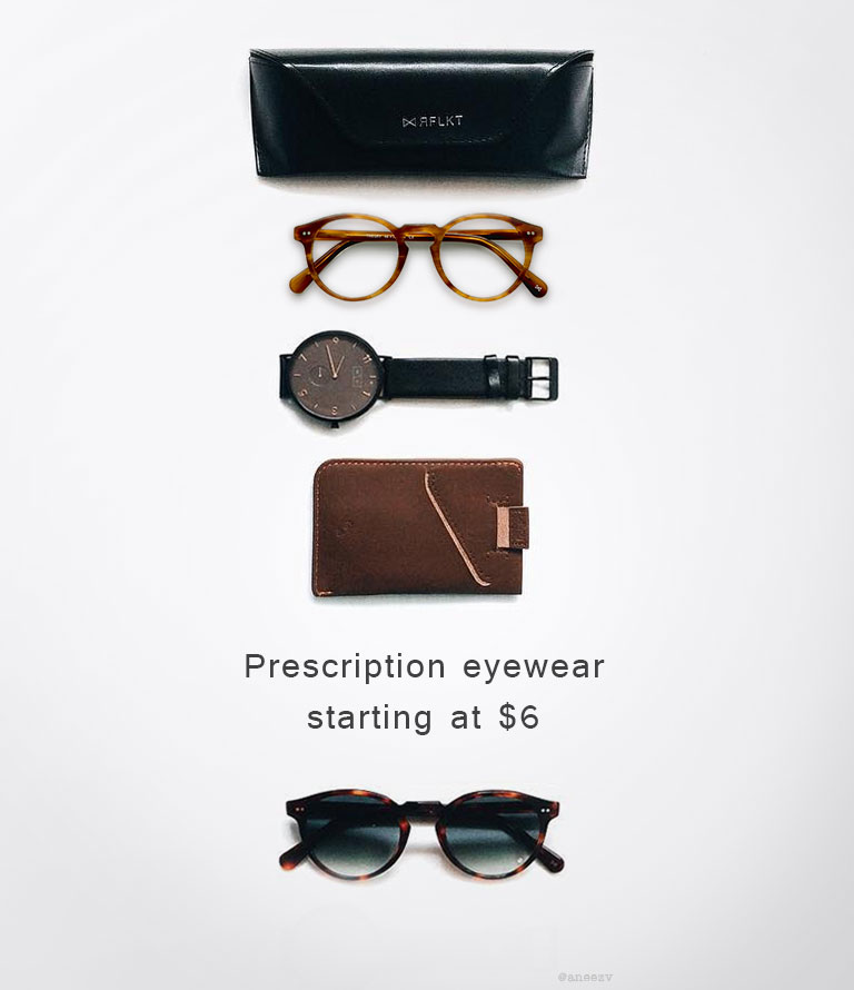 Prescription eyewear Starting at 6