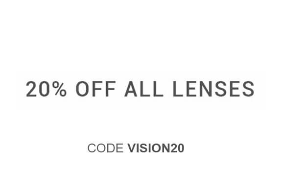 20% off all lenses