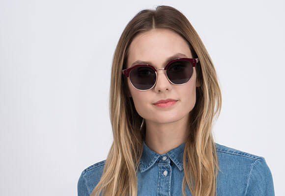 Prescription and Non-Rx Browline Sunglasses Online Secondary