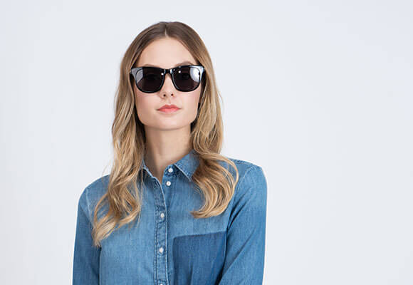 Prescription and non-Rx Square Sunglasses Online Principal