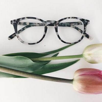 EyeBuyDirect Women eyeglasses aurora flecked ivory