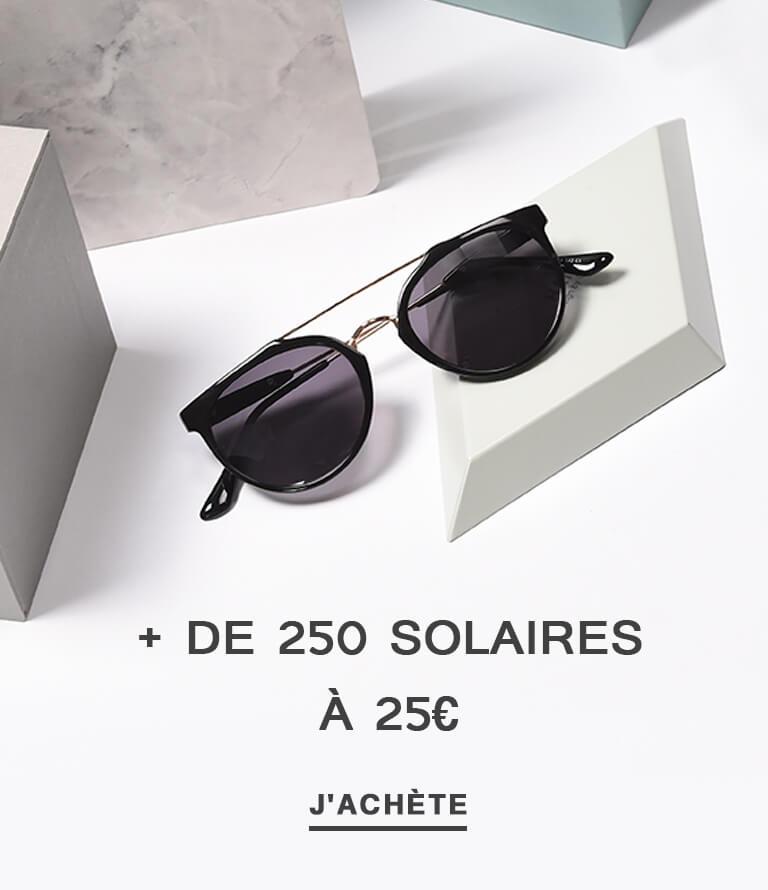 + de 250 solaires à 25€
