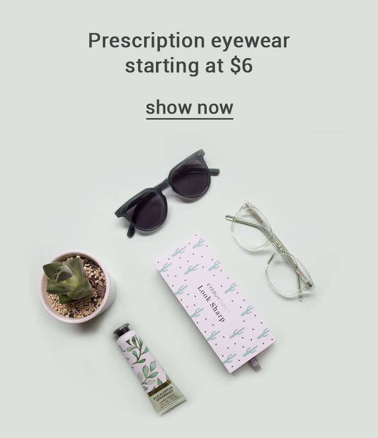 Prescription eyewear starting at $6